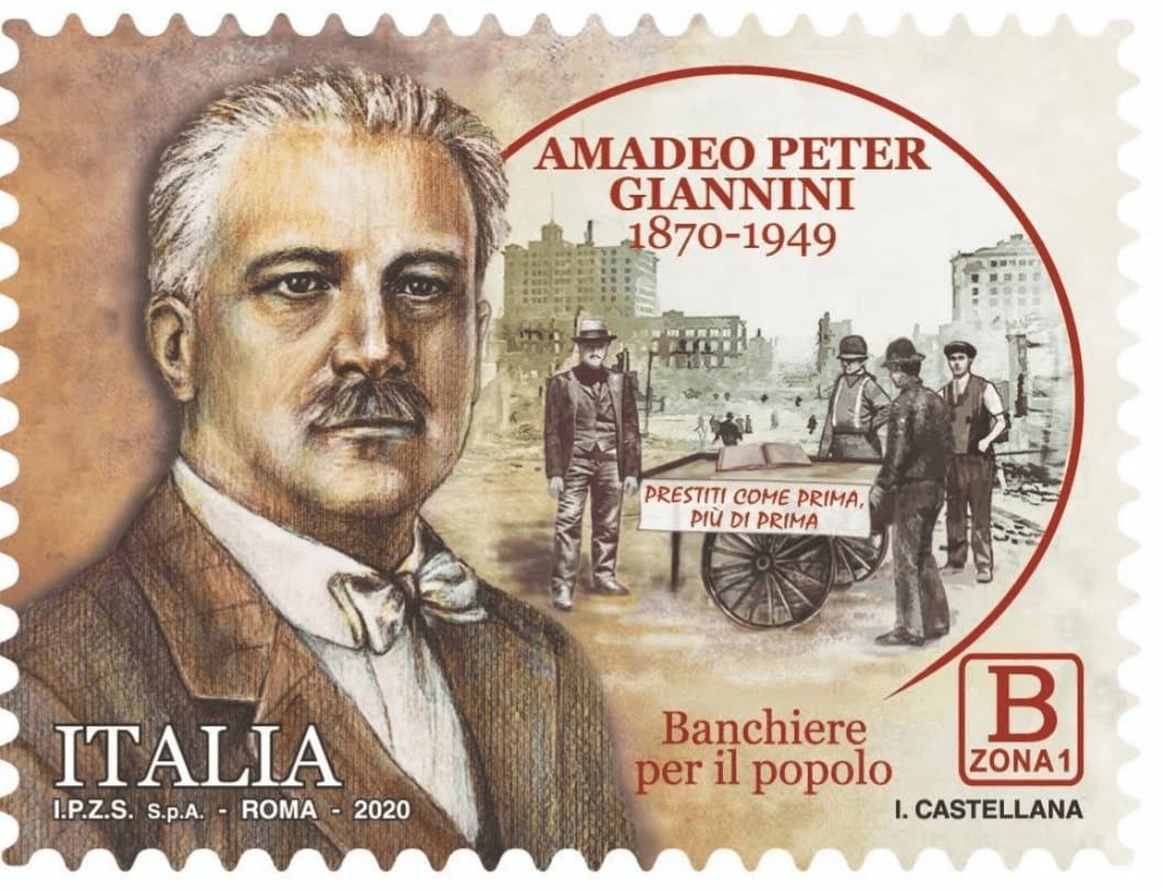 Amadeo Peter Giannini Francobollo